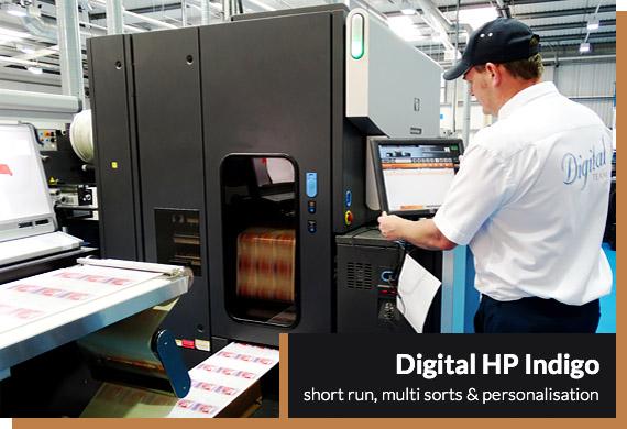 Berkshire Labels Digital Printing
